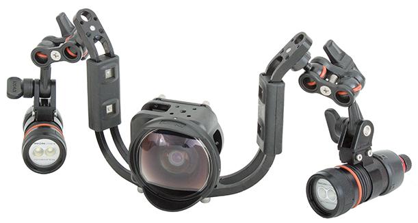 Съемка на GoPro под водой