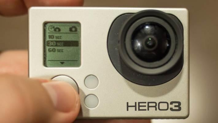 Таймлепс при помощи GoPro